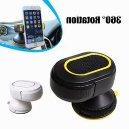360 Rotating Car Dash/Windscreen Mount Cell Phone Holder Sta