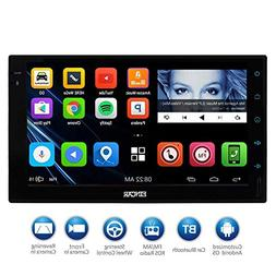 EinCar 7'' HD Touch Screen 2Din Android Car Navigation Radio