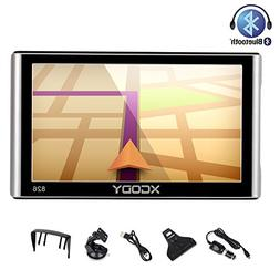 Xgody 826BT 7 inch Car Truck GPS Navigation 8GB/256MB Lifeti