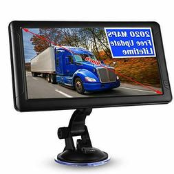 "9"" GPS Car Truck Commercial Driver Big Rig Accessories Navig"