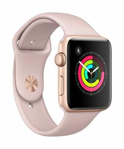 Apple SmrtWatc 26 - 42mm Watch Series 3 - GPS - Gold Aluminu
