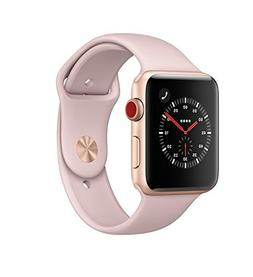 Apple Watch Series 3 42mm, GPS Cellular, Gold/Pink Sand Spor