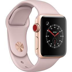 Apple Watch Series 3 - GPS+Cellular - Gold Aluminum Case wit