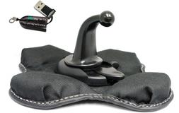 ChargerCity NonSkid Beanbag Friction Mount for Garmin Nuvi G