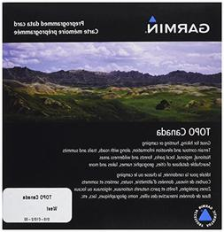 Garmin TOPO! West Canada Map microSD Card