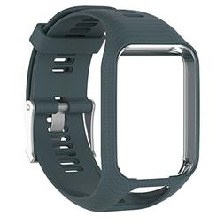 Replacement Bands for Tomtom Runner 2 / Runner 3 / Spark 3 /
