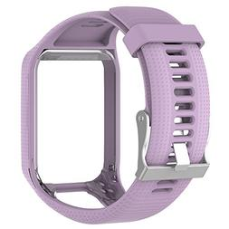 Shanglite Luxury Replacement Silicone Wrist Band Strap Sport