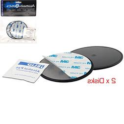 """AccessoryBasics Lots Off 2 Pack of 3.15""""  Adhesive Mounting"""