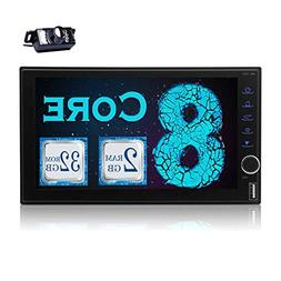 Android 7.1 2GB 32GB Car Stereo Video Player Universal Vehic