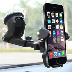 Car Black Accessories Universal adjustable Phone Windshield
