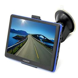 Xgody Car Trucking GPS Navigation 7 Inch Capacitive Touchscr