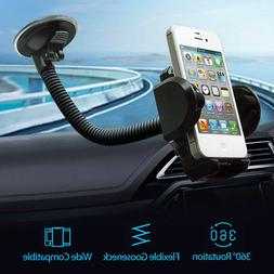 Cell Phone Car Windshield Holder Mount Stand For iphone Mobi