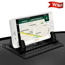 Cell Phone Holder for Car - FITFORT Universal Silicone Anti-
