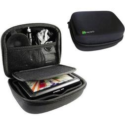 "ChargerCity Multi-Compartment Hard Case for Garmin 5"" GPS Dr"