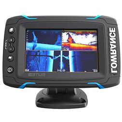 Lowrance Elite-5 Ti Touch Combo w/TotalScan Transom Mount Tr