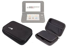 DURAGADGET Executive Black EVA Hard Case for NEW Nintendo 3D