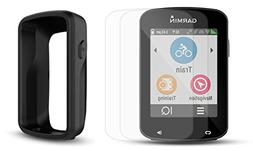 Garmin Edge 820 Cycle Bundle with PlayBetter Protective Sili
