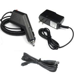 Garmin GPS Nuvi 255w Accessory Bundle - Car Charger + Home T