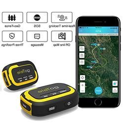 goTele GPS Tracker, No Monthly Fee No Network Required Mini