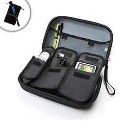 GPS Traveling Protective Case with Accessory Pockets by USA