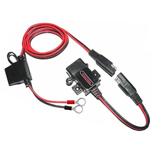 0609a waterproof motorcycle usb charger