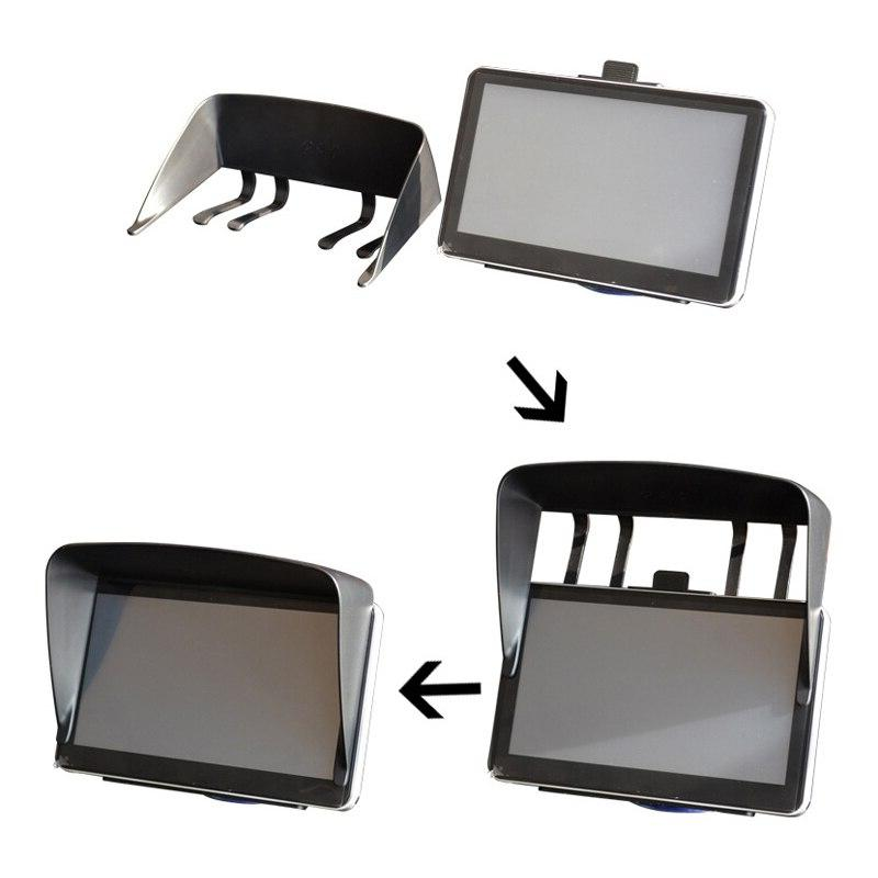 ESPEEDER <font><b>GPS</b></font> <font><b>Accessories</b></font> 7 Universal Sunshade Shade <font><b>GPS</b></font> Screen Visor Hood