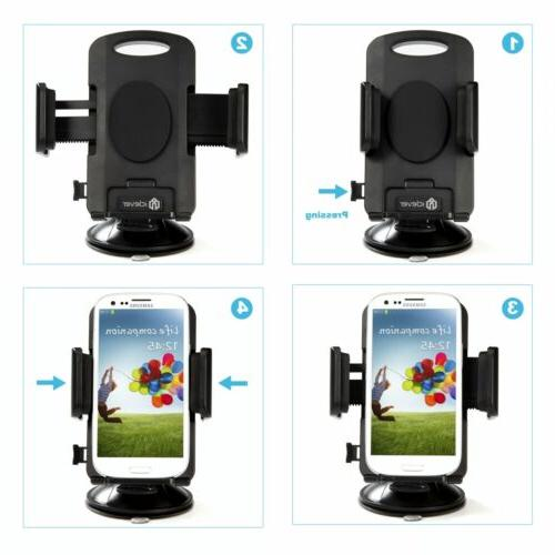 360° Universal Car Dashboard GPS Mount Stand Cradle