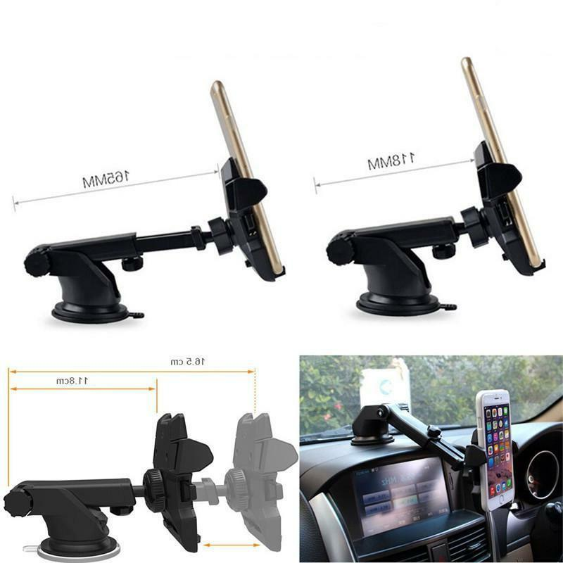 360° In Car Dashboard Cell Mobile GPS Holder Cradle