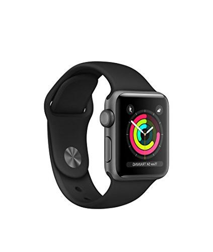 Apple Watch Series 3 - GPS - Space Gray Aluminum Case with B
