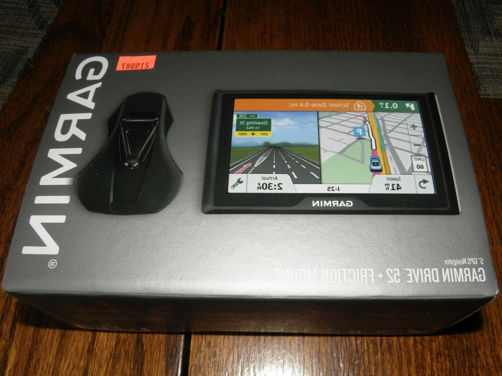 Brand New Garmin 52 GPS with carrying case and accessories