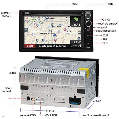 BOSS - Double LCD Monitor, DVD AUX Input, Receiver