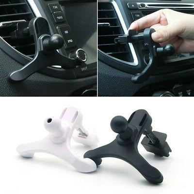 EP_ Car Air Vent Mount Clip Mobile Phone GPS Holder Bracket