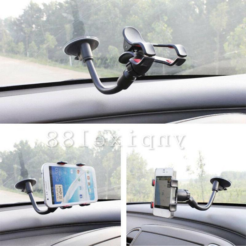 US Car Auto 360° Mobile Windshield Mount GPS