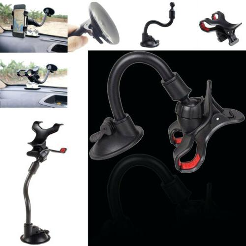 US 360° Car AUTO ACCESSORIES Rotate Phone Windshield Mount