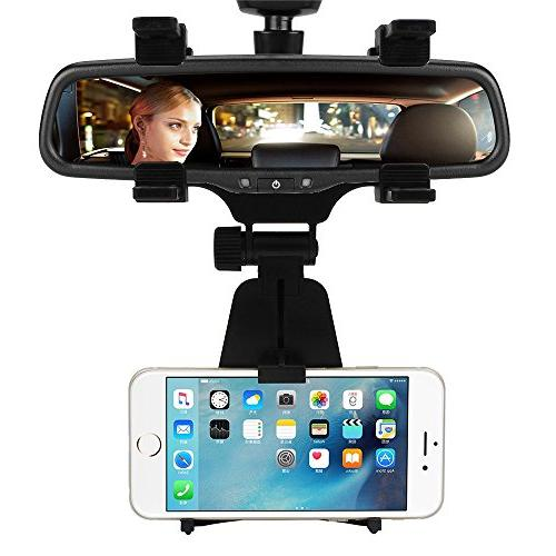 car mount rearview mirror