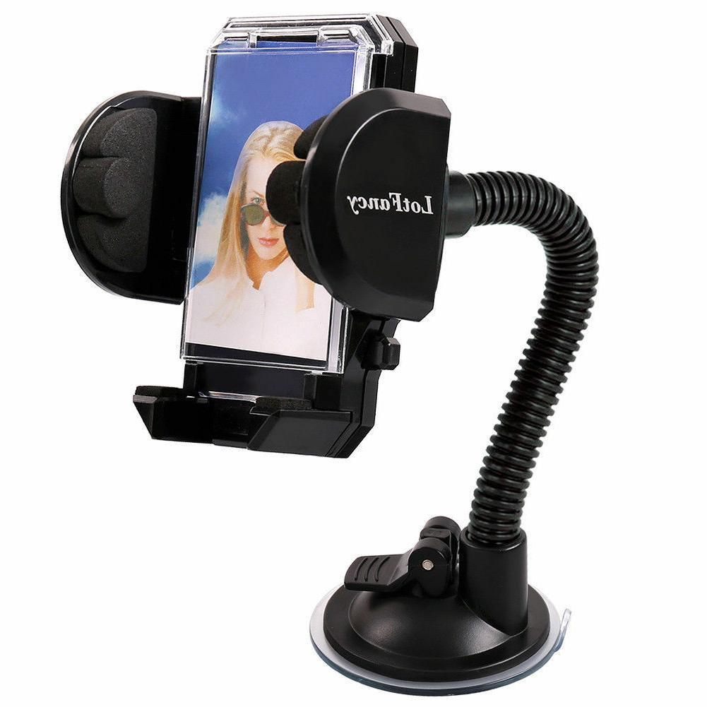 Cell Windshield Holder iphone Mobile GPS Accessory