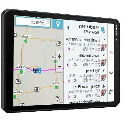 "Garmin dezl 8"" GPS Navigator with Accessory Bundle"