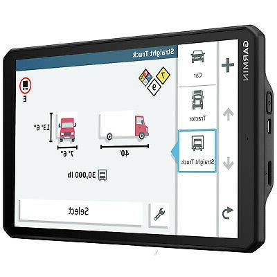 Garmin dezl GPS Truck Navigator with Accessory Bundle