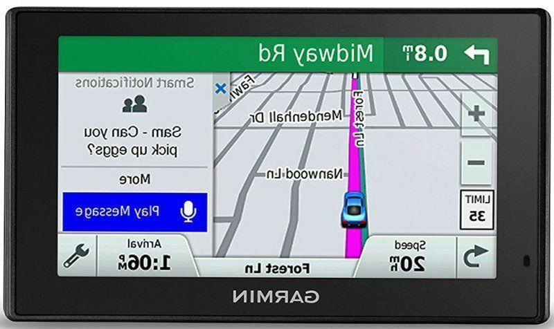 Garmin DriveSmart 61 NA LMT-S with Lifetime Maps/Traffic, Bl