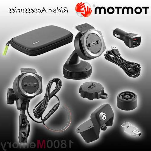 GENUINE TomTom Accessory, Mount, Cable Charger Parts f Rider