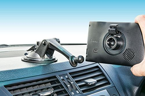 ARKON or with 3-Inch Arm for Garmin nuvi