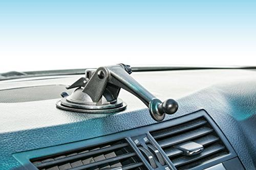ARKON or Windshield Dashboard Sticky Suction Mounting with 3-Inch Arm Garmin
