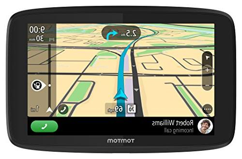 TomTom GO 620 Free Lifetime Traffic World Messaging, Control Hands-free Calling