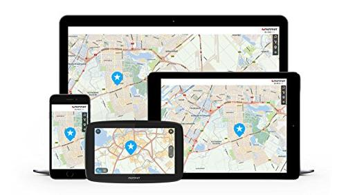 TomTom GO 6-Inch GPS Free World Messaging, Hands-free Calling