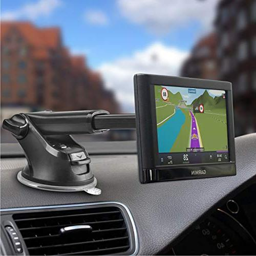 GPS Mount, APPS2Car Dashboard Windshield Replacement Upgrade for Garmin Dezl StreetPilot