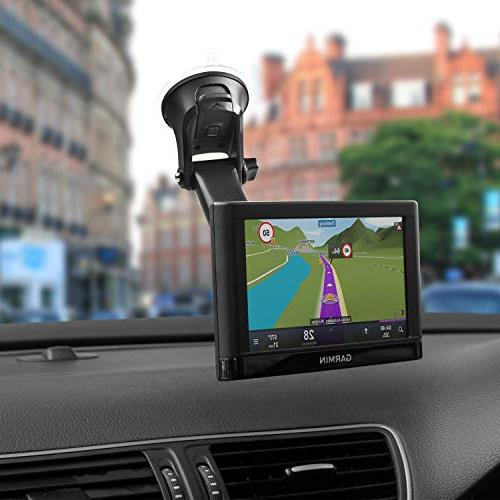 GPS Mount, Mount w/One Hand Operated Semi-Auto Telescopic Arm Additional Replacement StreetPilot Zumo