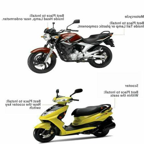 GPS Tracker Motorcycle Tracker Real Tracking Car Accessories