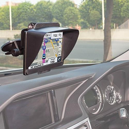 TFY Navigation Shade for nüvi 2797LMT 7-Inch Portable Bluetooth Vehicle GPS and other