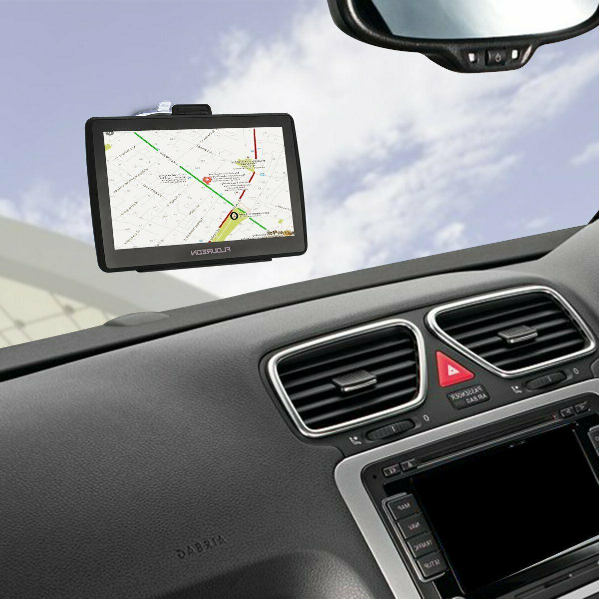 Gps Truck Driver Big Rig Accessories Navigation
