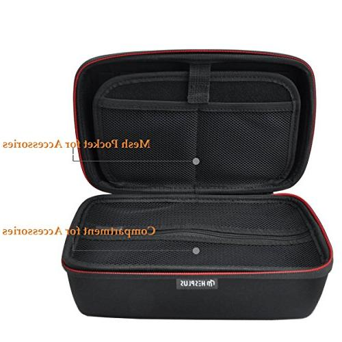 """HESPLUS Travel Bag with 6-7"""" nuviCam nuvi 2797LMT 2757LM 2689LMT Tomtom Via GPS Navigator and Accessories"""